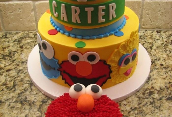 6 Layer Cakes For Boys 1st Birthday Elmo Photo Elmo First Birthday