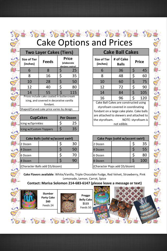 Cakes Bakery Albertsons Sheet