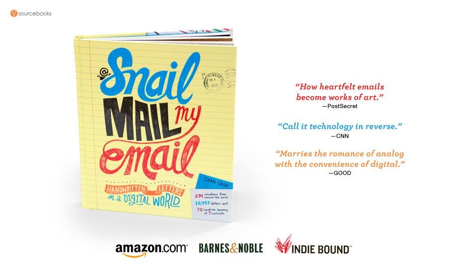 snail mail my emaill book