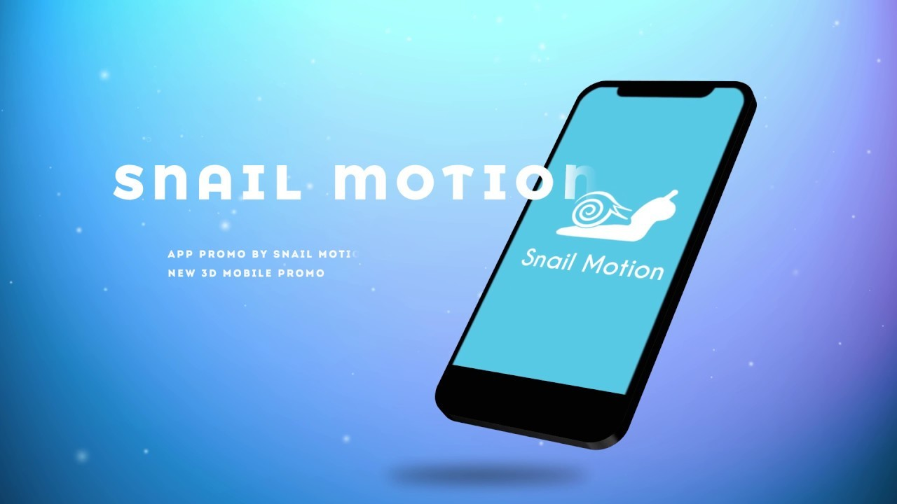 3d App Promo After Effect Template