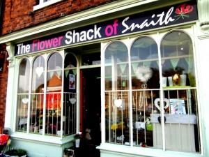 The Flower Shack of Snaith, 31 Market Place, Snaith, DN14 9HE. Tel: 01977 663699
