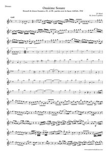 Rebel violin sonata