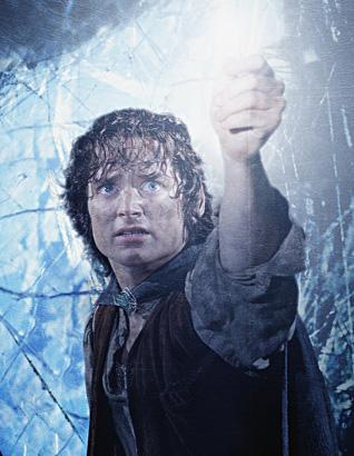 Elijah Wood as Frodo Baggins