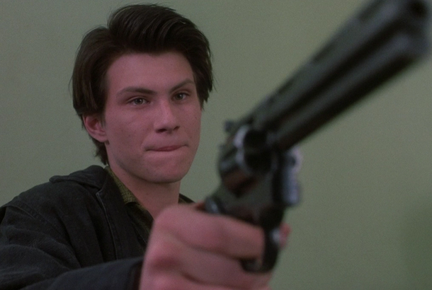 Image result for heathers gun in school