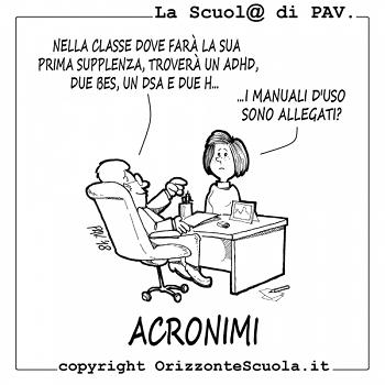 La Scuola Attraverso Gli Acronimi Carmelo Nesta