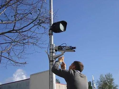 impianti di videosorveglianza Prenestina