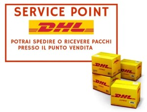 service point dhl tor vergata