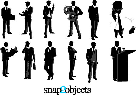 Businessmen Vector Pack Preview