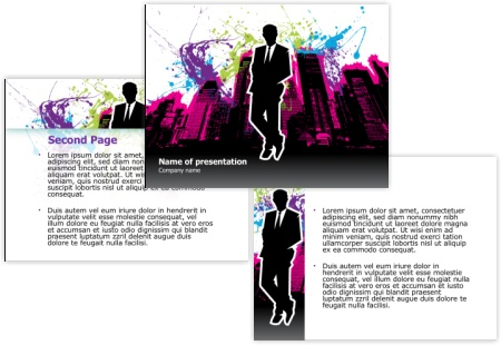 Free Business Powerpoint Templates Pack 02