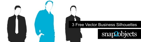 Free Vector Business Silhoutettes