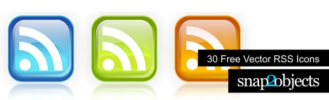 Free Vector RSS Icons