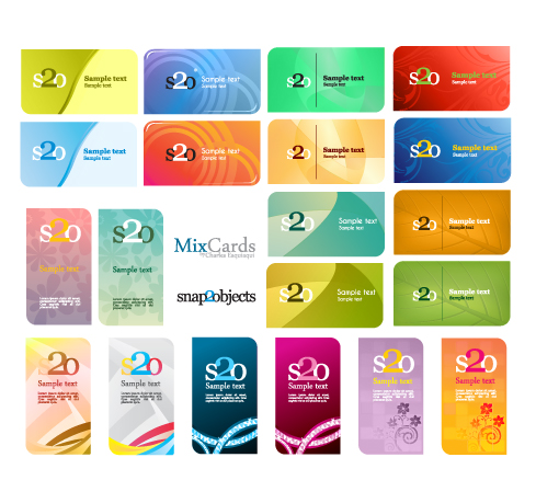 Free Vector Business Card Template Designs