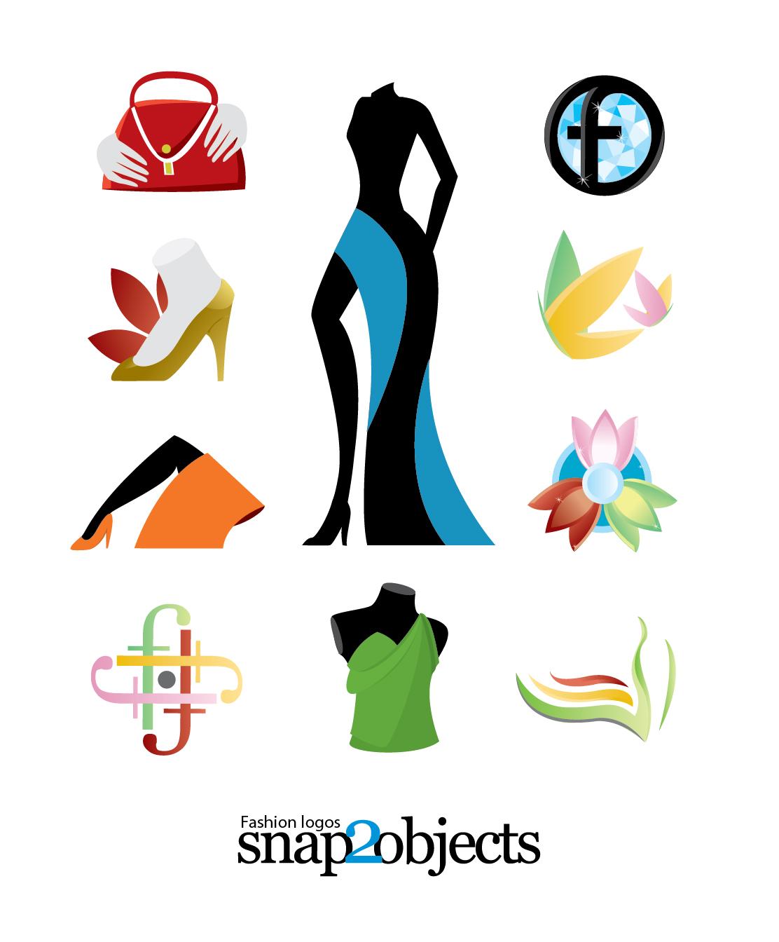 69c8252ff Free Vector Fashion Logo Templates -