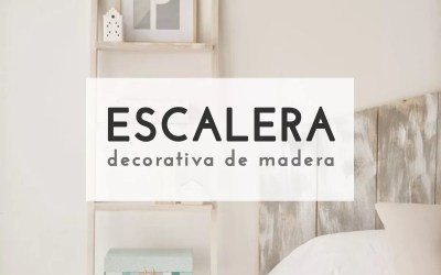 DIY ESCALERA DECORATIVA