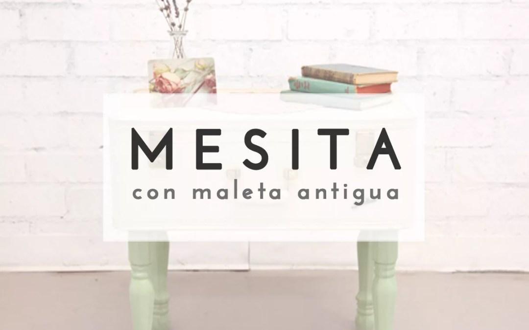 MESITA CON MALETA