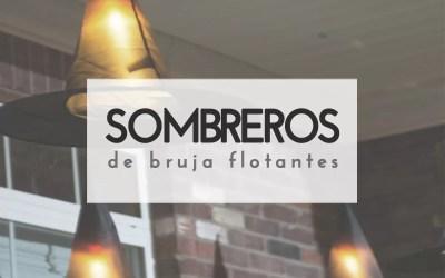 SOMBREROS DE BRUJA FLOTANTES