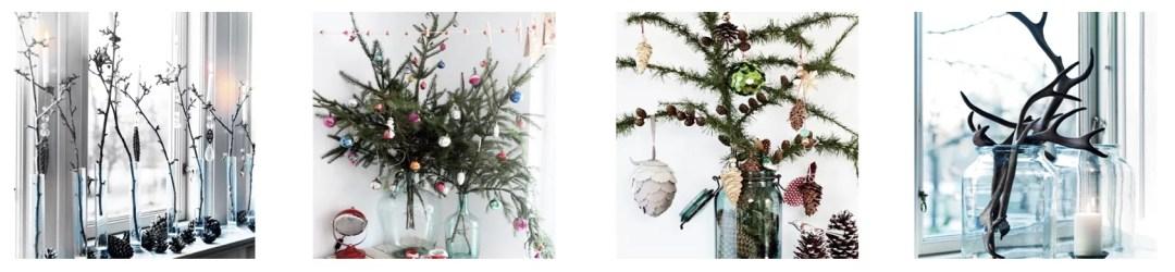 ideas para decorar en navidad con tarros