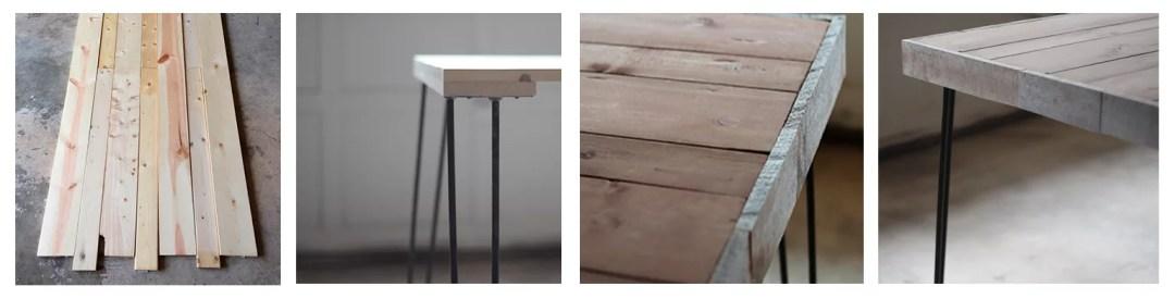 DIY mesa de escritorio con palet