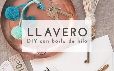 DIY LLAVERO DE BORLA