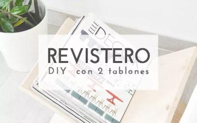 DIY REVISTERO CON 2 TABLONES