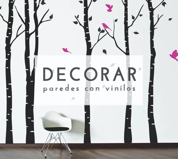 DECORAR PAREDES CON VINILO