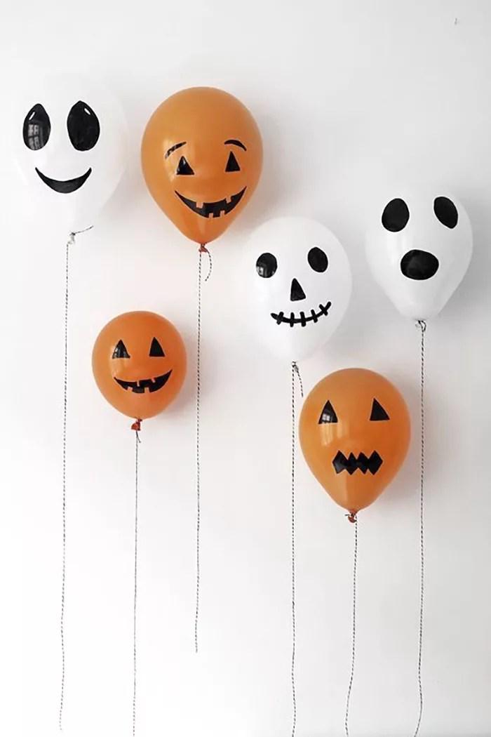 DIY globos para halloween