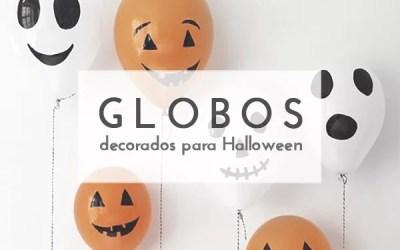 DIY GLOBOS DE HALLOWEEN