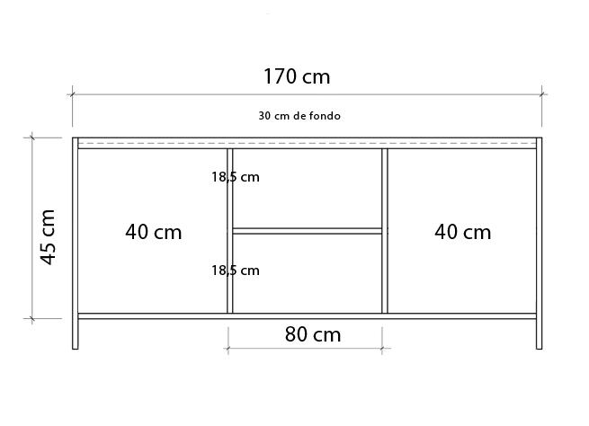 plano de mesa