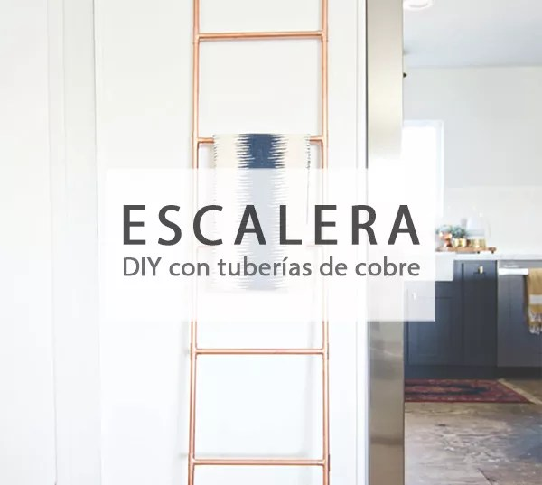 DIY ESCALERA CON TUBERÍAS DE COBRE