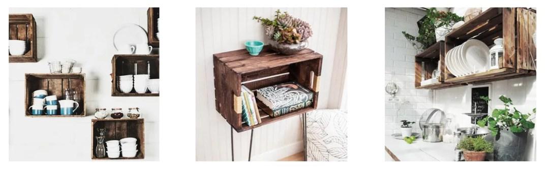 DIY caja de madera