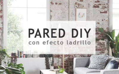 DIY PARED DE LADRILLO