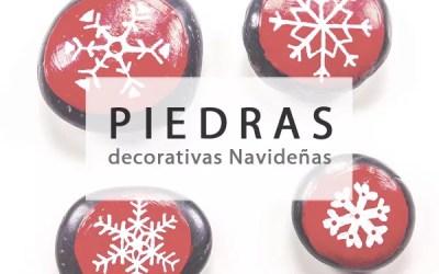 PIEDRAS PARA DECORAR EN NAVIDAD