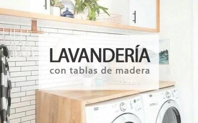 ZONA DE LAVANDERÍA DIY