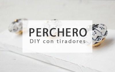 COLGADORES DIY CON TIRADORES