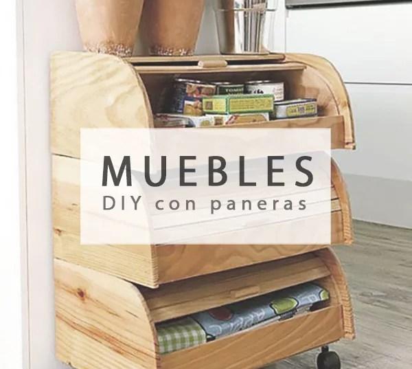 MUEBLE DIY CON PANERAS