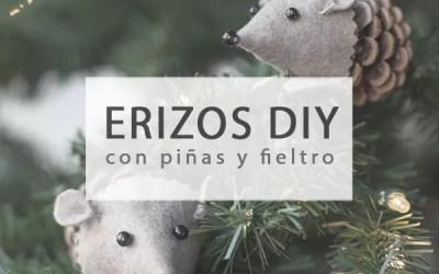 ERIZOS DIY CON PIÑAS