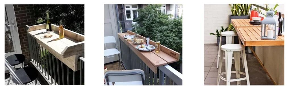 barra diy para el balcón