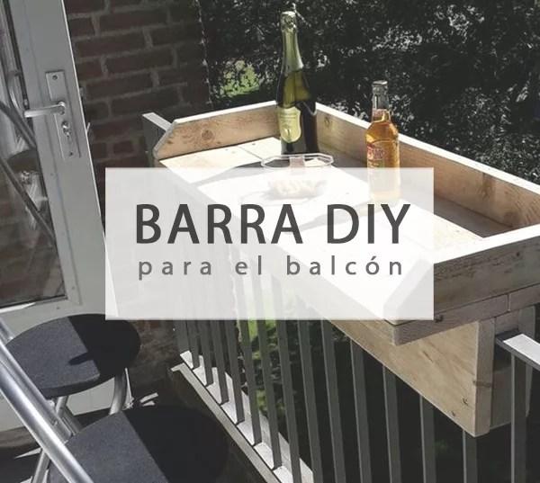 Barra DIY para balcón