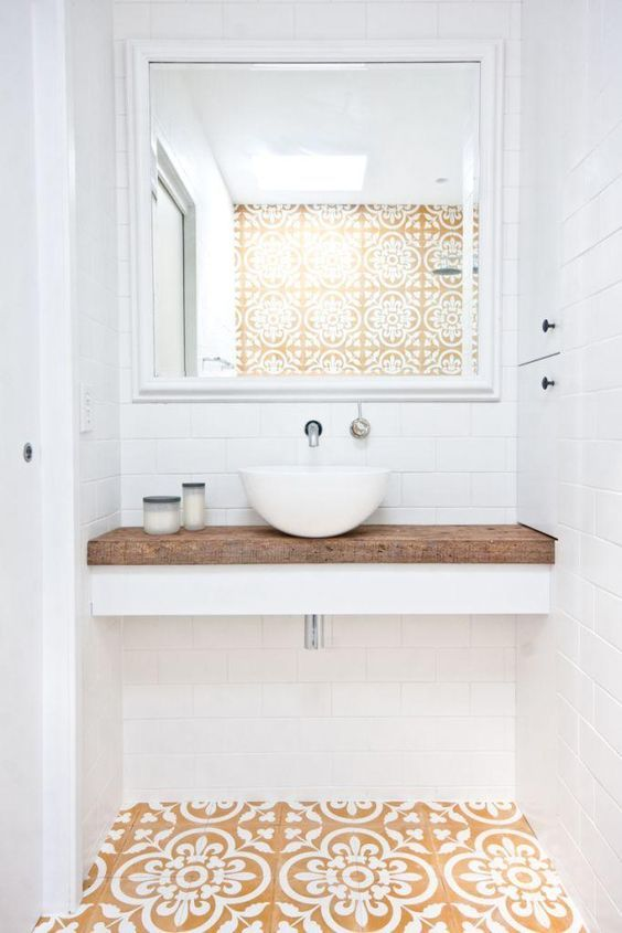 baños claros