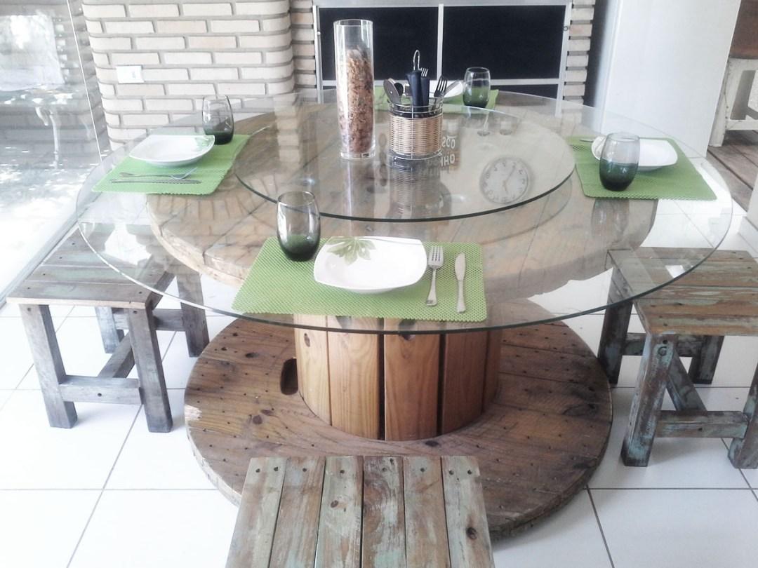 mesa con bobina