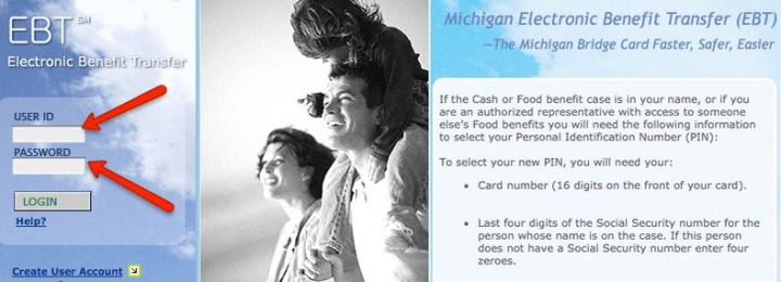 Michigan Food Stamp Card Number