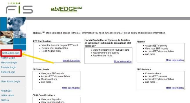 Login www.ebtEDGE.com