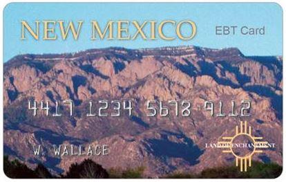NM Ebt Card balance