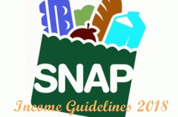 Food Stamp Income Guidelines 2018