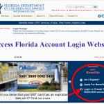 Access Florida Account Login @ www.myflorida.com/accessflorida