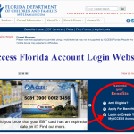 Access Florida Account Login @ www.myflorida.com/accessflorida