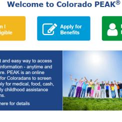 Colorado PEAK Login
