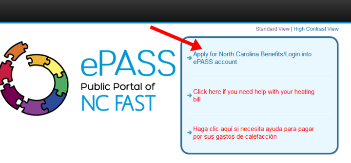 EPass NC Gov Login