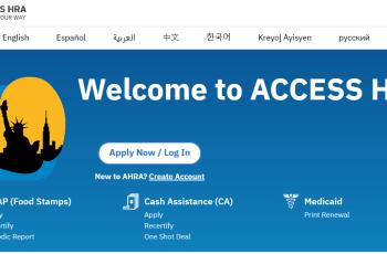 Create NYC ACCESS HRA Account