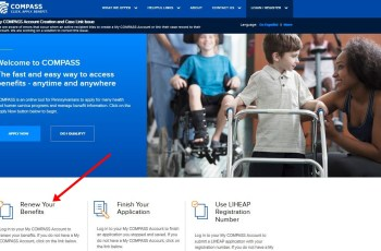 www.compass.state.pa.us renew benefits